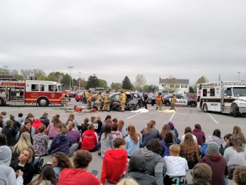 Driver safety initiatives held for students, families leading up to senior ball