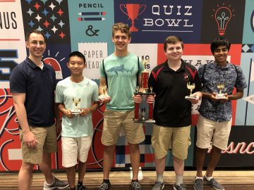 Hempfield Quiz Bowl team ties for twelfth place at championship tournament