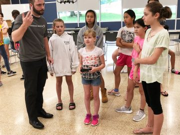 Colonial's Girls In Technology Summer Academy teamed with Lockheed Martin
