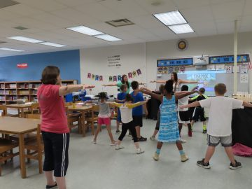 Extended School Year (ESY) provided fun summer learning opportunities