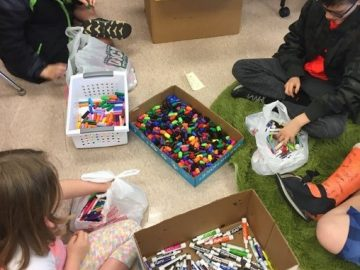Students recycle 1,900 markers