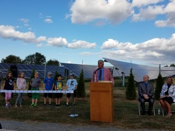 District adds solar field for energy savings