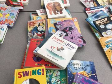 Bellefonte Reads again supports the Jared Box Project with book donations