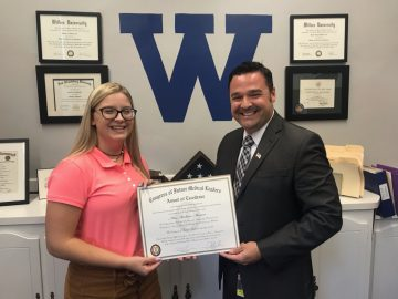 West Scranton senior earns award from Future Medical Leaders