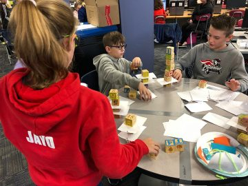 Colonial Middle School students go hands-on with Newton's Laws of Motion