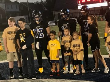 Football program's 500th win takes backseat to children who 'fight just to live another day'