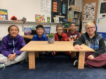 Students create The Hamilton Table with the Engineering by Design Process