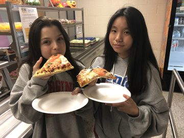 Middle school grows its own basil for National School Lunch Week