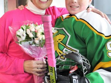 """Deer Lakes Hockey """"Pinks the Rink"""" for Hair Peace"""