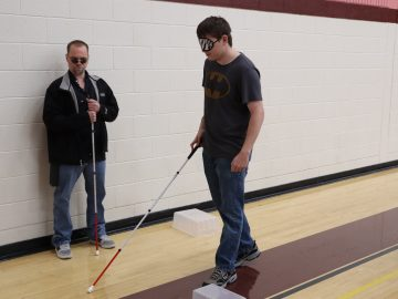 White Cane Day at Cranberry High School