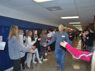 """Pleasant Hills Middle School hosts """"Tribute to Troops"""" on Veterans Day"""