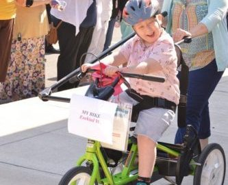 Adaptive bicycles make fun for all