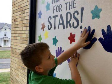 Sensory walk a new feature at Pleasant Gap Elementary School