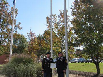 SV JROTC named 2019-20 'Honor Unit with Distinction'