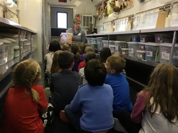 Elementary students learn about agriculture with PA Farm Bureau