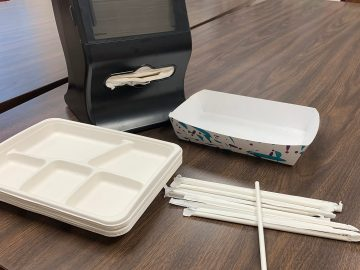 District makes lunchtime more eco-friendly