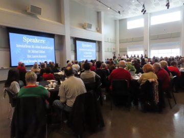 Thomas Jefferson High School hosts holiday senior citizen appreciation brunch