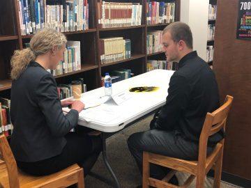 Senior mock job interviews