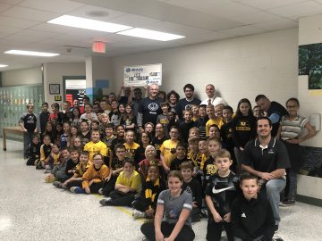 TJ3D Printing Club receives $5,000 donation to support sales demand