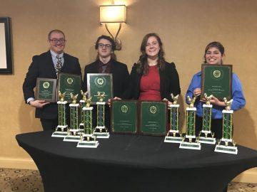 BAHS student place at 4-H conference in Kentucky