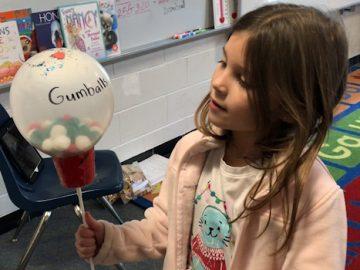 "Second graders create ""Balloons Over Ridge Park"""