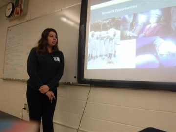 College students, grads work with BAMS science classes