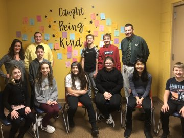 "Students ""Caught Being Kind"" at Penn Middle School"