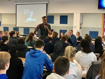 Students describe MLK Day speaker as 'inspiring' and 'enlightening'