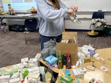 PWHS Language Clubs collected 4,000+ toiletry items for homeless Philadelphians