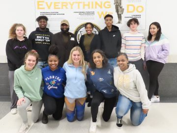 TJHS students celebrate Black History Month with visit from state president of NAACP