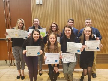 Students present science research in competition