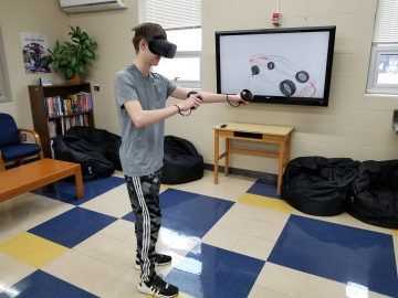 Digital Media Arts students benefit from 3D model in virtual reality