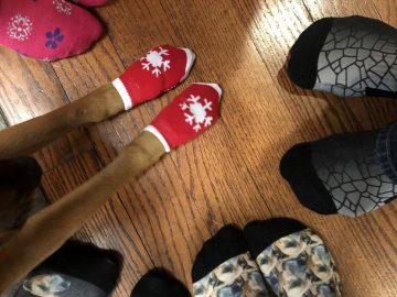 "WJHSD celebrates ""Rock Your Socks for World Down Syndrome Day"" at home"