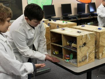 "Students make ""electrifying"" presentations"