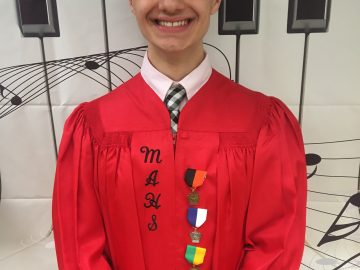 Student chosen for State Music Festival