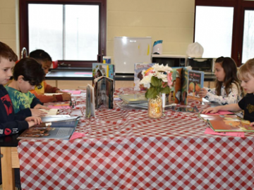 Students find reading 'appetizing' at special event